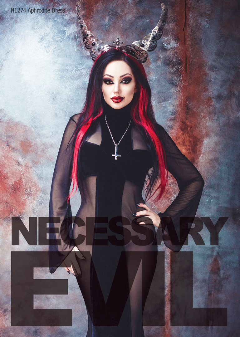 194ed909c44 Necessary Evil Catalogue SS17 Front Page