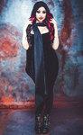 Necessary Evil Vesta Hooded Scarf Dani Divine